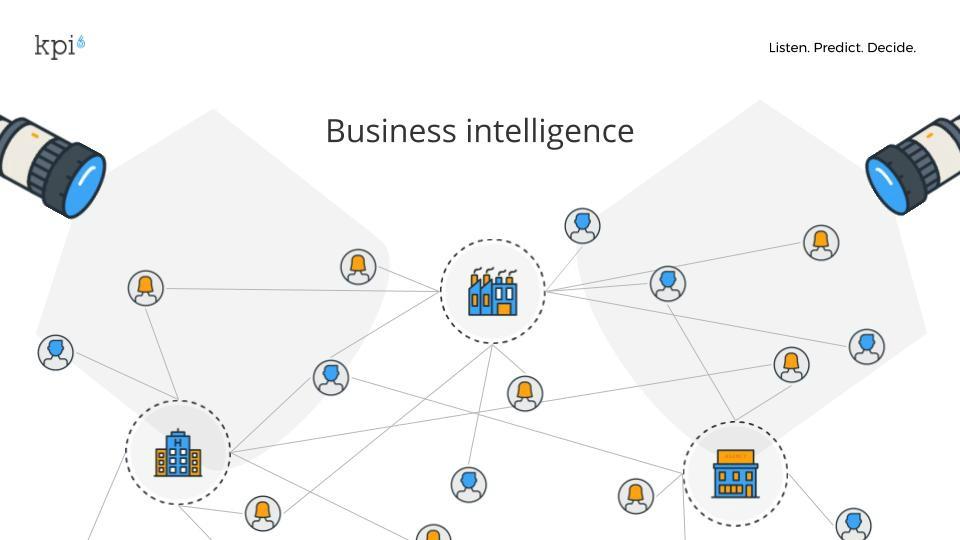 immagine che rappresenta i collegamenti della business intelligence