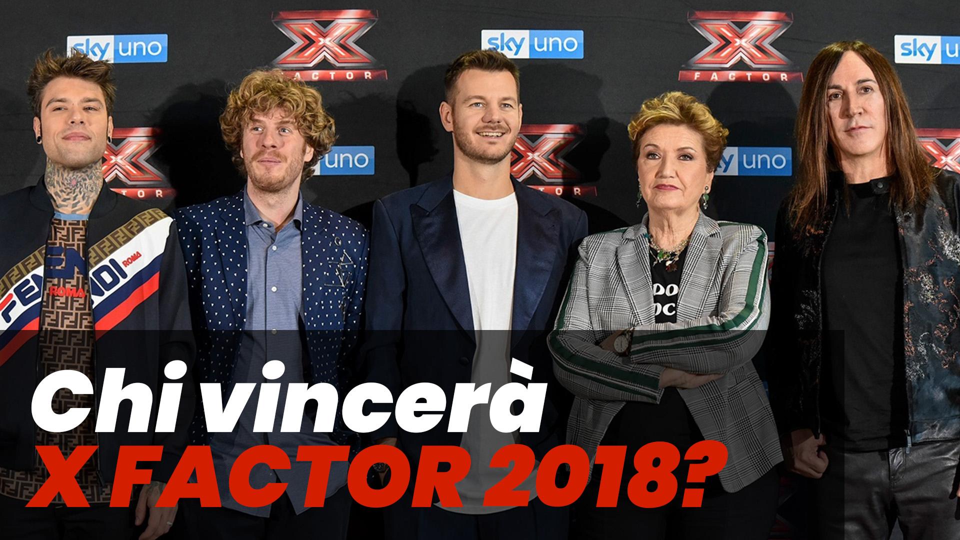 Chi vincerà X Factor 2018? Scopriamolo in anteprima con l'Intelligenza Artificiale!