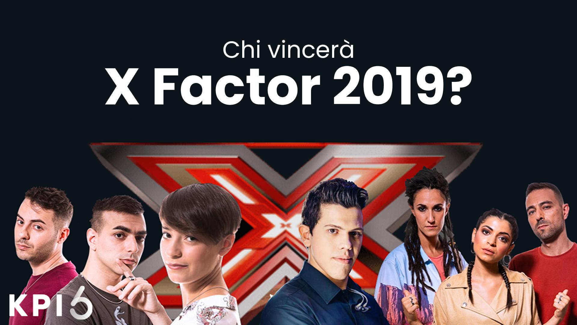 Chi vincerà X-Factor 2019? Ripetiamo la previsione (azzeccata) dello scorso anno